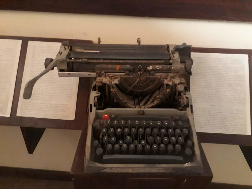 Photo-of-Fela-Typewriter-Kalakuta-Museum-Ikeja-Jades-Unfiltered-Life